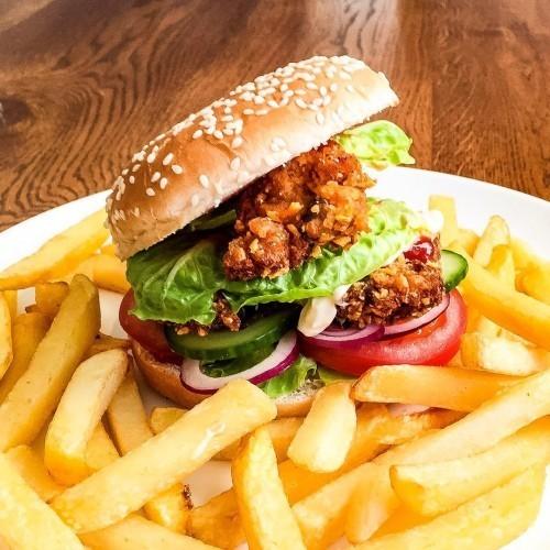 Vege Burger Meal Vitamin C booster